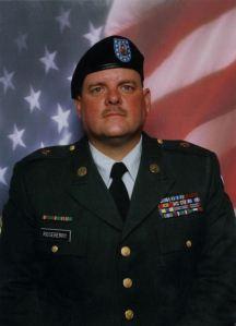 Billy in Guard Uniform